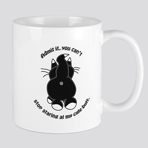 Admit it Cat Butt Mugs