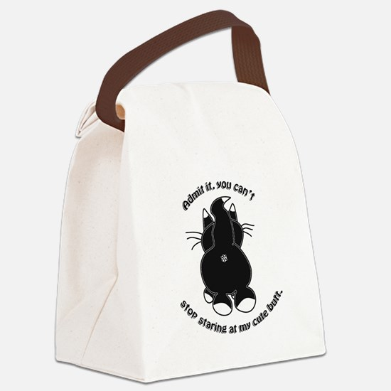 Admit it Cat Butt Canvas Lunch Bag