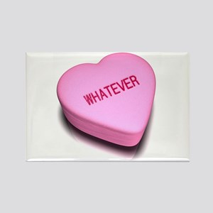 Whatever heart candy Rectangle Magnet