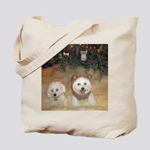 Maggie-Sock-Monkey-III-Dec- Tote Bag