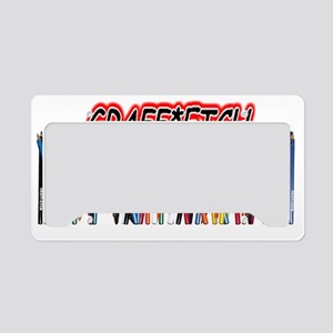 Graff-Etch MUG License Plate Holder