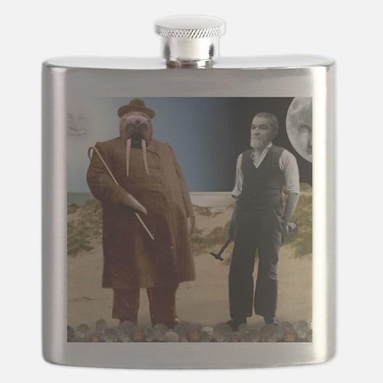 The Walrus  The Carpenter Flask