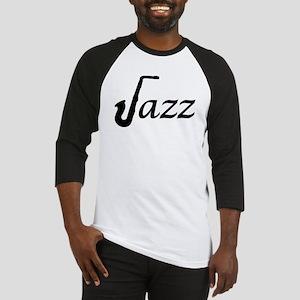 Jazz Saxophone Baseball Jersey