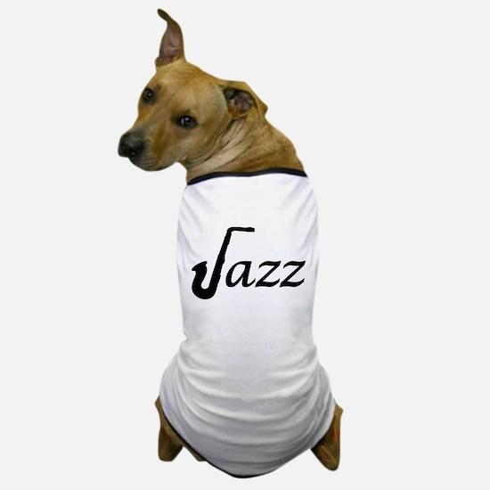 Jazz Saxophone Dog T-Shirt