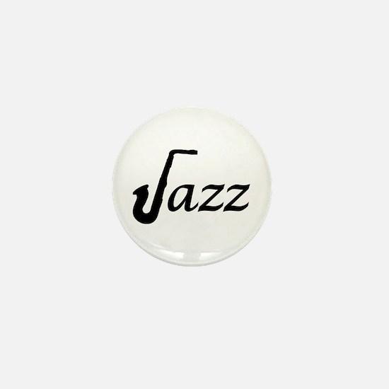 Jazz Saxophone Mini Button