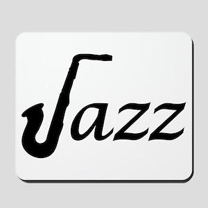 Jazz Saxophone Mousepad