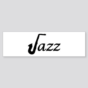 Jazz Saxophone Sticker (Bumper)