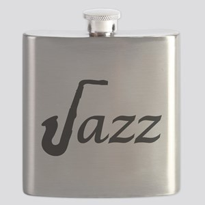 Jazz Saxophone Flask