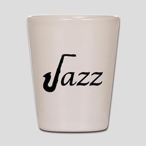 Jazz Saxophone Shot Glass