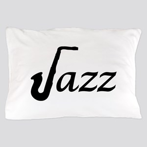 Jazz Saxophone Pillow Case