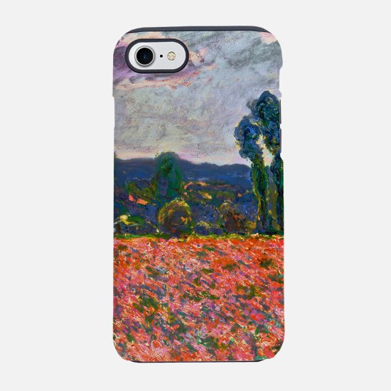 Monet - Poppy Field iPhone 7 Tough Case