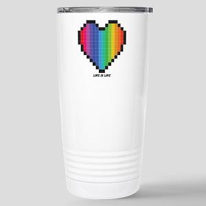 Love Is Love Lgbt Rainbow Heart Mugs