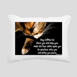 ceilingcat Rectangular Canvas Pillow