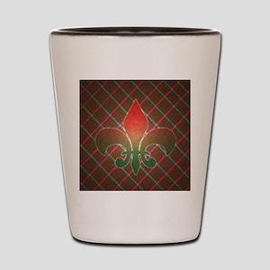 Fleur Xmas3 Shot Glass