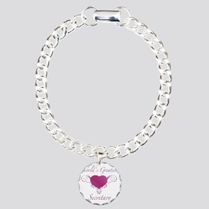 Heart_Secretary Charm Bracelet, One Charm