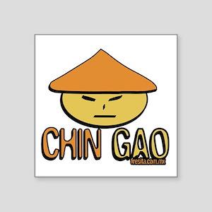 "chingao Square Sticker 3"" x 3"""