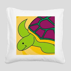 Turtle iPad Square Canvas Pillow