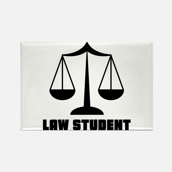 Law School Student Rectangle Magnet