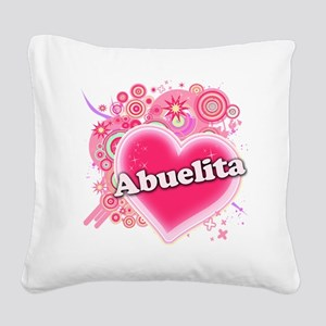 Abuelita Square Canvas Pillow