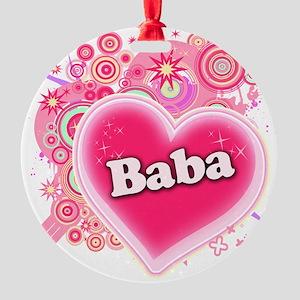 baba Round Ornament