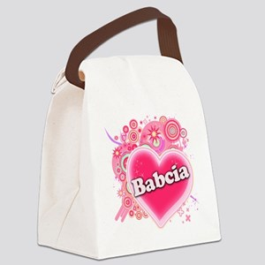 Babcia Canvas Lunch Bag