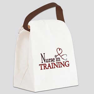 Nurse in Training Canvas Lunch Bag