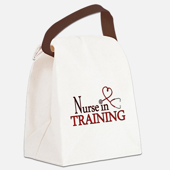 Nurse in Training Canvas Lunch Bag