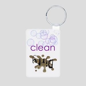 Dish Washer Magnet - Is it Aluminum Photo Keychain