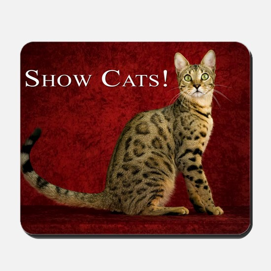 Show Cats Cover Mousepad