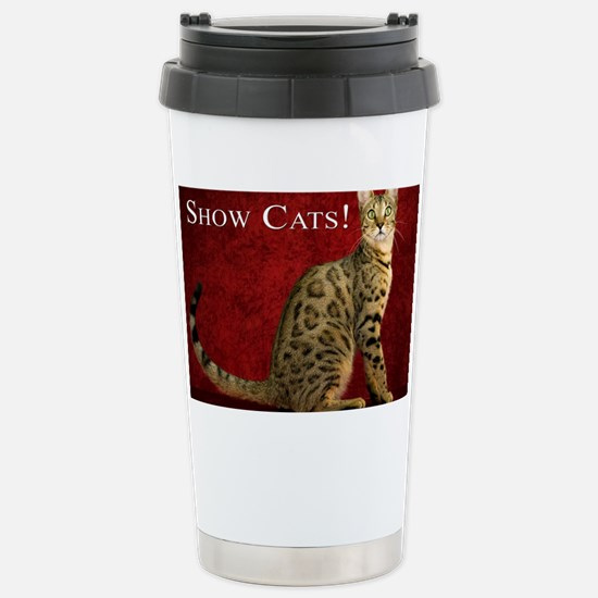 Show Cats Cover Stainless Steel Travel Mug