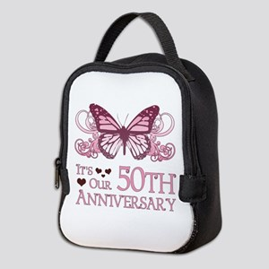 50th Wedding Aniversary (Butterfly) Neoprene Lunch