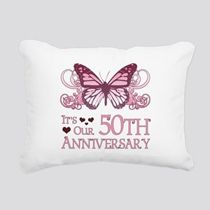 50th Wedding Aniversary (Butterfly) Rectangular Ca