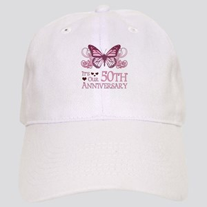 50th Wedding Aniversary (Butterfly) Cap