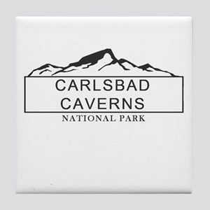 Carlsbad Caverns - New Mexico Tile Coaster
