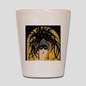 Art Deco Lady Shot Glass