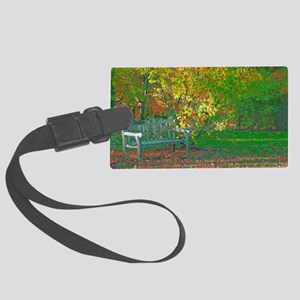 beauty surrounds you Large Luggage Tag