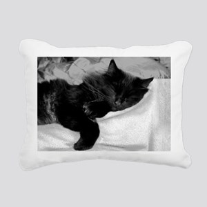 card lazy day Rectangular Canvas Pillow