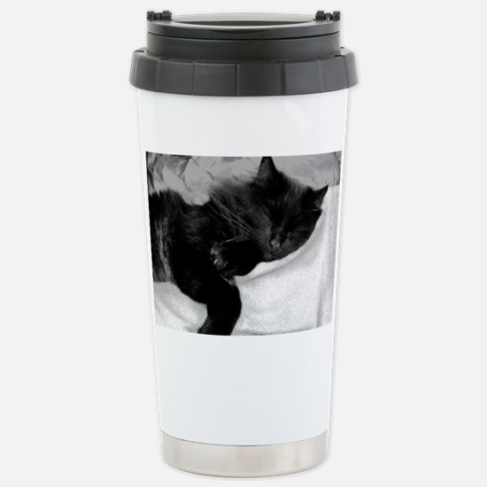 card lazy day Stainless Steel Travel Mug