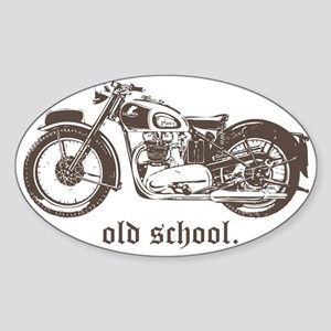 triumph 500 Sticker (Oval)