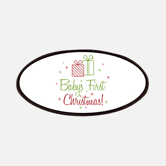 Baby's First Christmas Patches