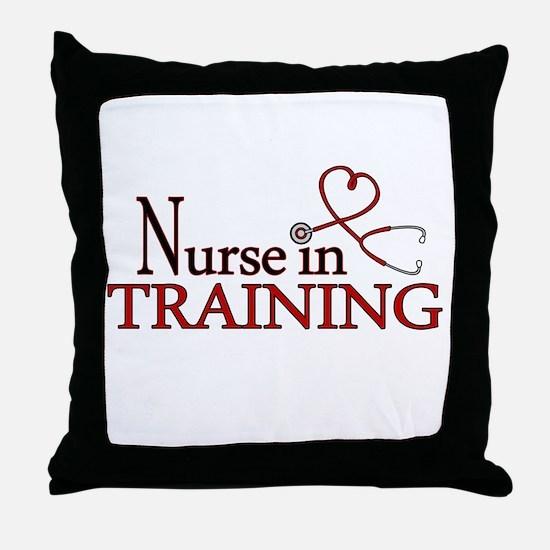 Nurse in Training Throw Pillow
