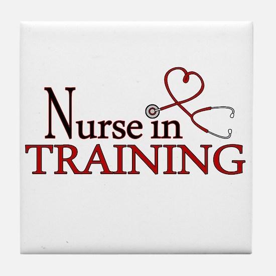 Nurse in Training Tile Coaster