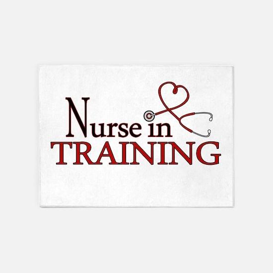 Nurse in Training 5'x7'Area Rug