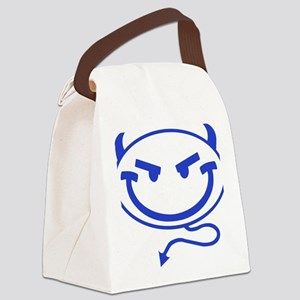 Little Meanies - Blue Canvas Lunch Bag
