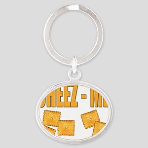 cheez me Oval Keychain