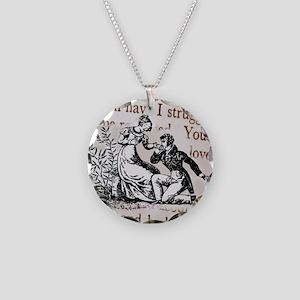Mr Darcys Proposal, Jane Aus Necklace Circle Charm