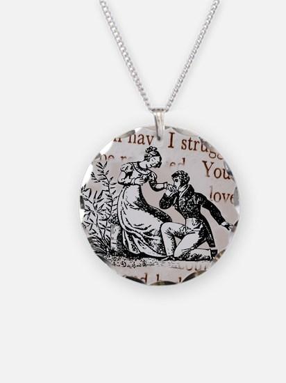 Mr Darcys Proposal, Jane Aus Necklace