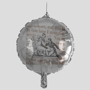 Mr Darcys Proposal, Jane Austen Mylar Balloon