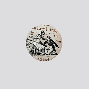 Mr Darcys Proposal, Jane Austen Mini Button
