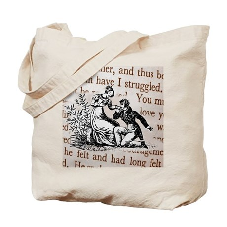 Mr Darcys Proposal, Jane Austen Tote Bag